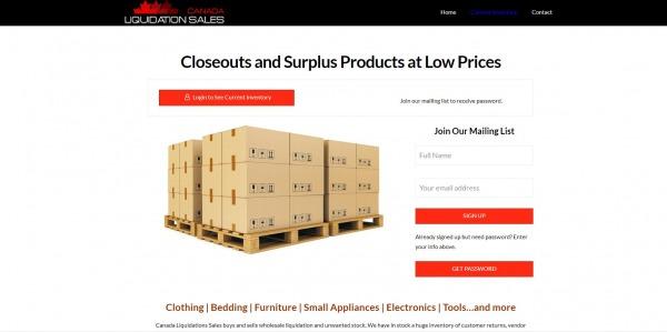 Canada- Liquidation Stores in Costco