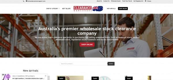 Clearance Warehouse