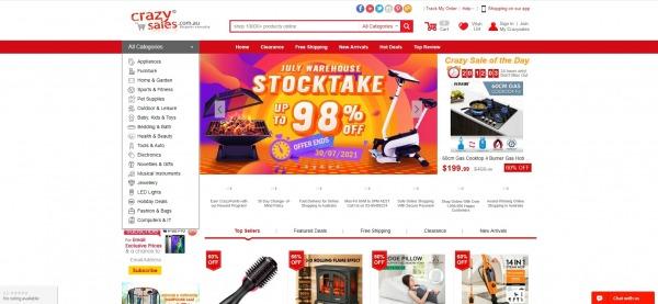 Crazysales - liquidation stores Australia