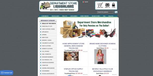 Department Store Liquidations