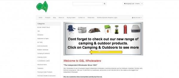 G&L Wholesalers - liquidation stores Australia