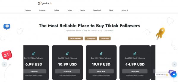 GetViral - Buy TikTok Shares