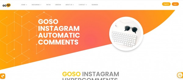 Goso - Instagram auto comment