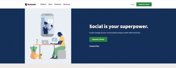 Hootsuite - Twitter Growth Service