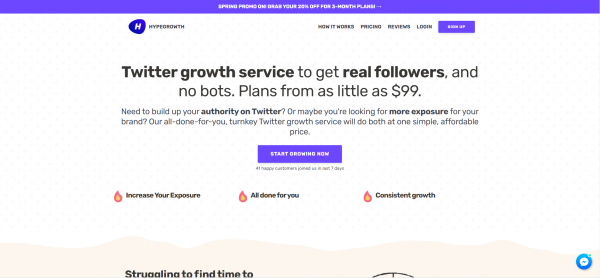 HypeGrowth - Twitter Growth Service