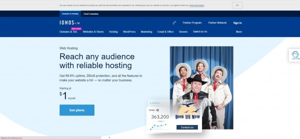 IONOS - Shared Web Hosting