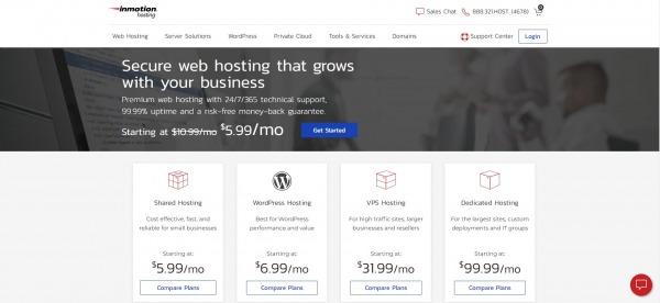 Inmotionhosting - Shared Web Hosting