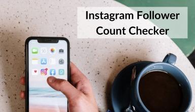 Instagram Follower Count Checker