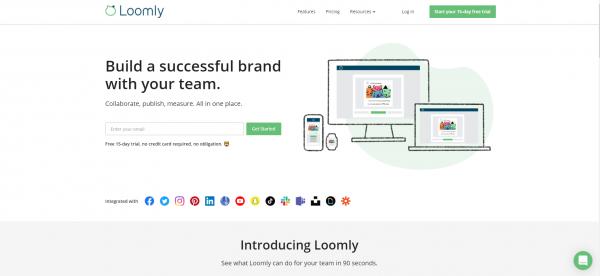 Loomly - hootsuite alternatives