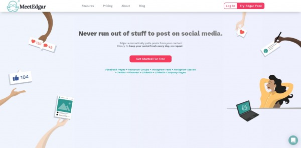 Meet Edgar - hootsuite alternatives