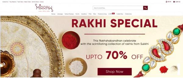 Mirraw - Send Rakhi To India