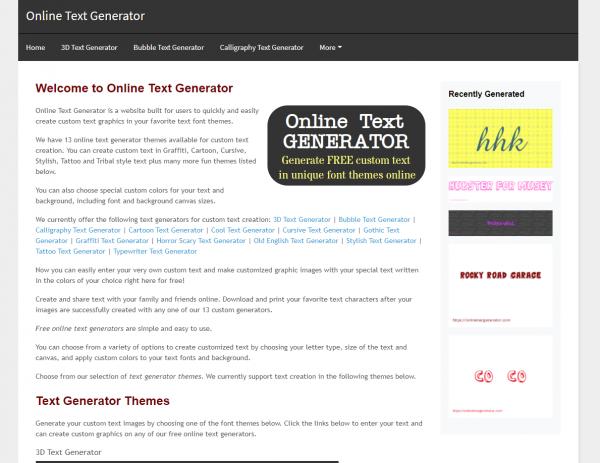 Online Text Generator - Twitter Font Generator