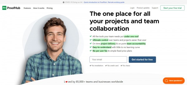 ProofHub: business planner tool