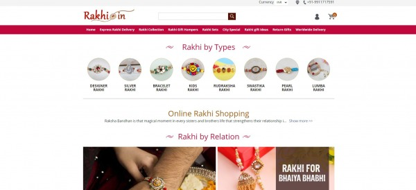Rakhi - Send Rakhi To India