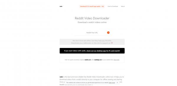 RedV-Reddit Video Downloader