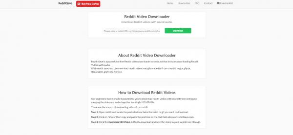 Redditsave-Reddit Video Downloader
