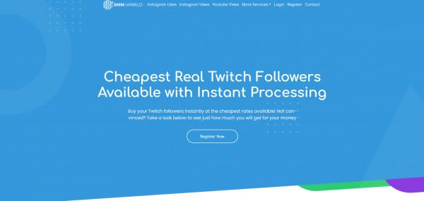 SMM World-Buy Twitch Followers