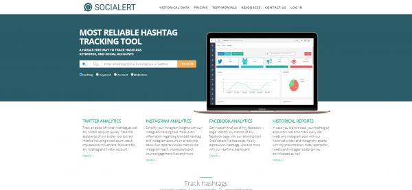 Socialert - Hashtags For Twitter