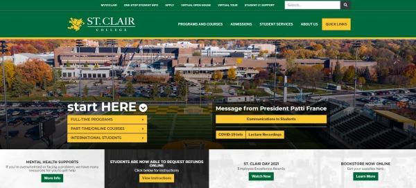 St. Clair College-Vet Schools in Canada