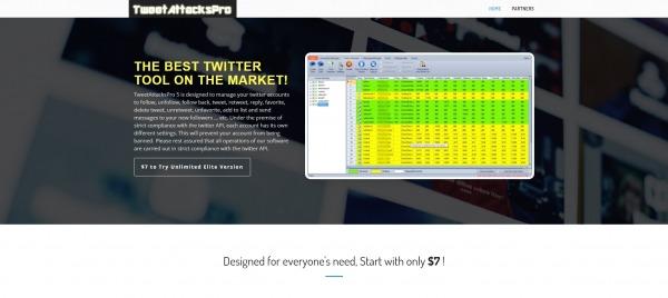 Tweet Attacks Pro - Twitter Growth Service