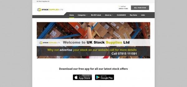 UK Stock Supplies LTD -Buy Liquidation Pallets