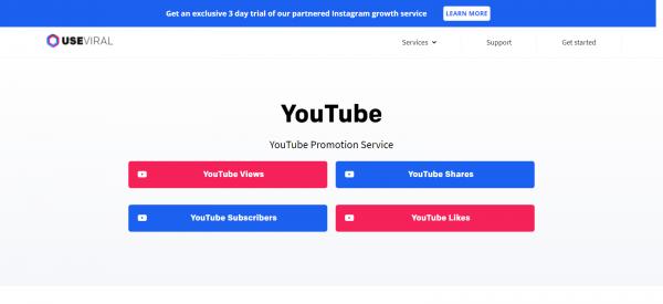 UseViral: YouTube Promotion Service Provider