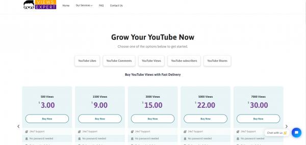 Viewsexpert - Buy YouTube Watch Time