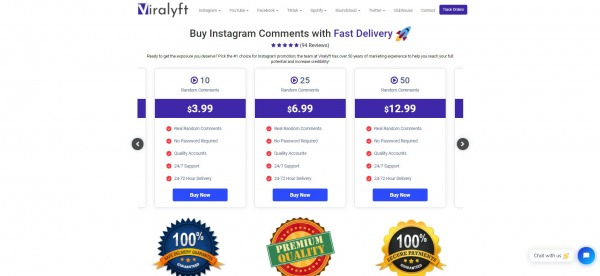 Viralyft :Instagram Auto Comments