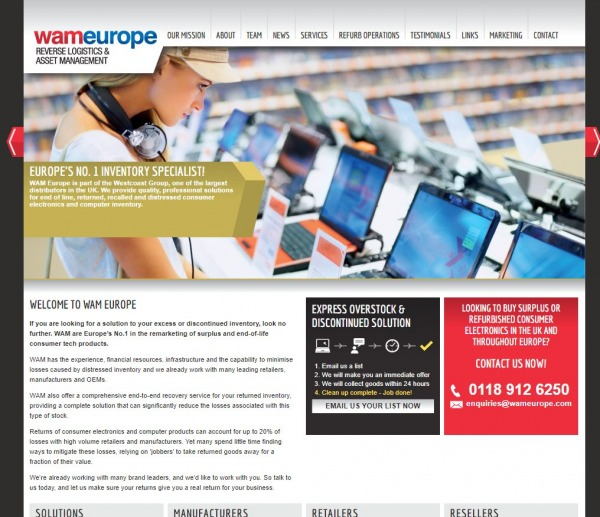 Wam Europe UK -Buy Liquidation Pallets