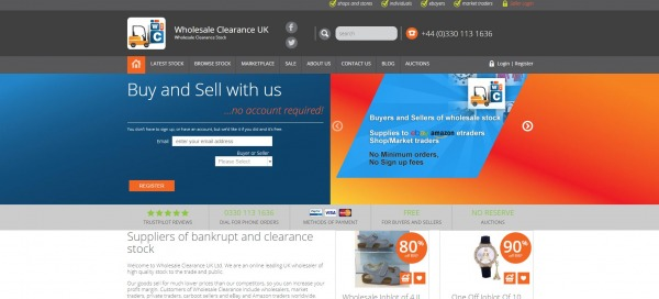 Wholesale Clearance UK -Buy Liquidation Pallets