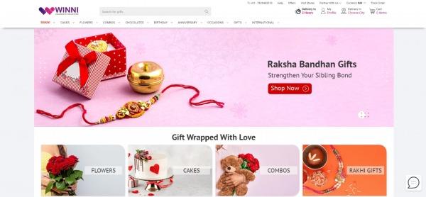 Winni - Send Rakhi To India