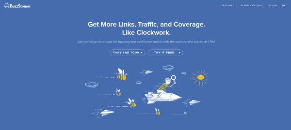 buzzstream - Influencer Marketing Tools