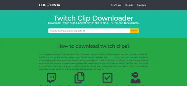 clip.ninja - Twitch Video Downloader