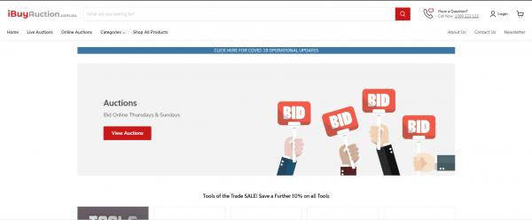 iBuy Auction - liquidation stores Australia