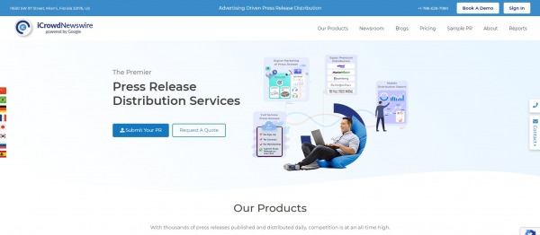 iCrowdNewsWire - Press Release Distribution Services