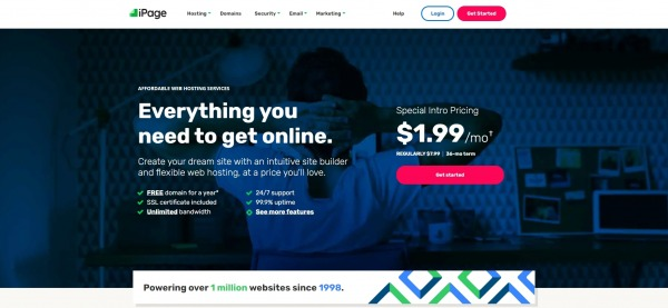 iPage - Shared Web Hosting