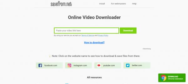 savefrom.net - Vimeo Video Downloader