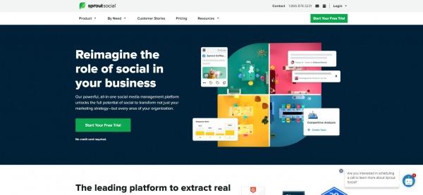 sproutsocial - hootsuite alternatives