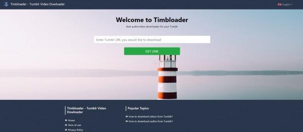 timbloader - Tumblr Video Downloader