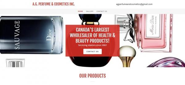 AG Perfume and Cosmetics - Liquidation Stores in Brampton