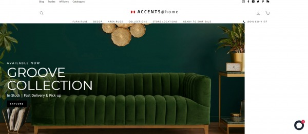 Accents Home - furniture Store in London