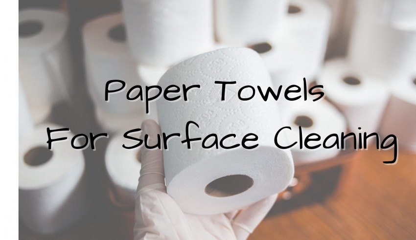 Paper Towels For Surface Cleaning