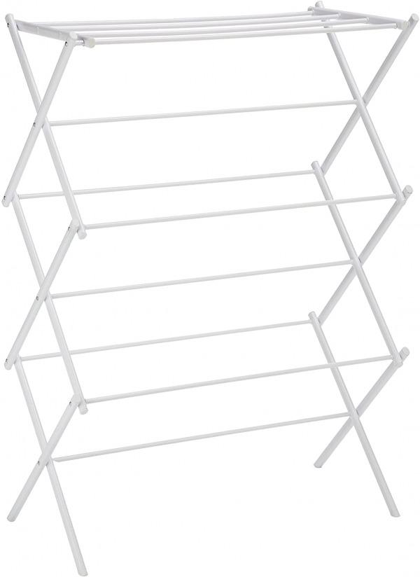 Amazon basics foldable laundry rack