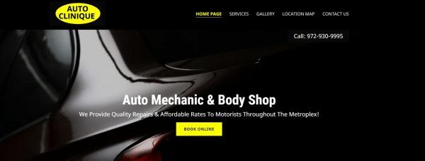Auto Clinique - Auto Repair Plano