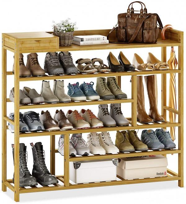 Bamworld 5 tier shoe rack