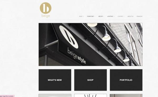 Beige - Furniture Store Montreal