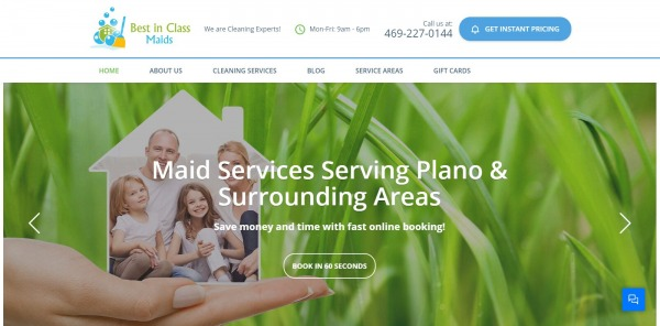 Best in Class Maids: House Cleaning Service