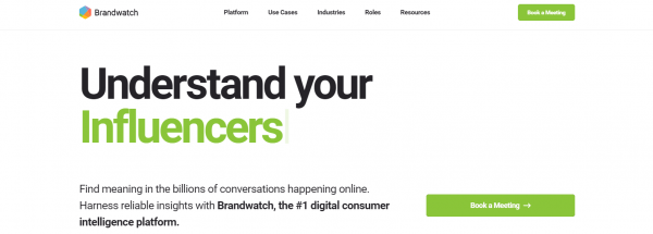 Brandwatch: Twitter Analytics Tool