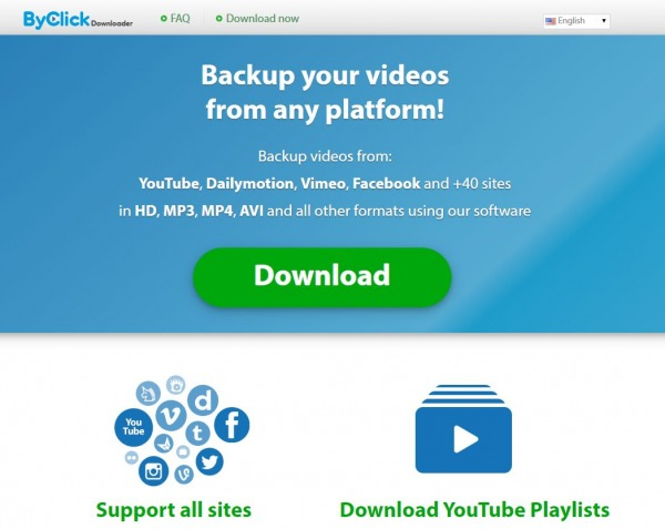 By click Downloader - youtube to mp3