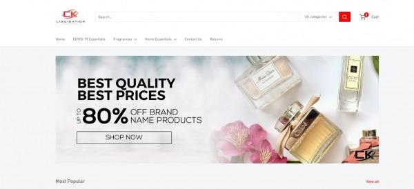 CK Liquidation - Liquidation Stores in Brampton